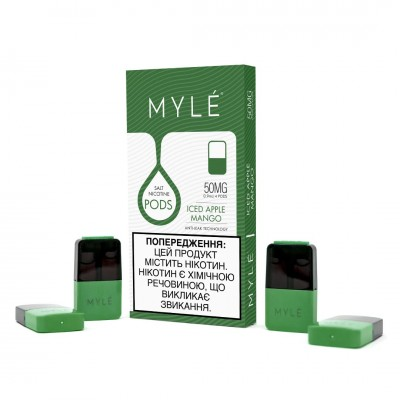 MYLE Pods Magnetic Edition - ICED Apple Mango