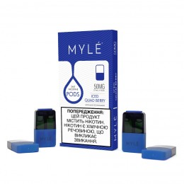 MYLE Pods Magnetic Edition - ICED Quad Berry