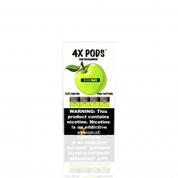 4X Pods - Green Apple 6,5%