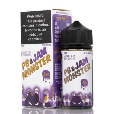 Жидкость Jam Monster - PB Grape 100ml