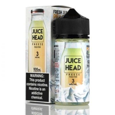 Жидкость Juice Head Freeze - Peach Pear