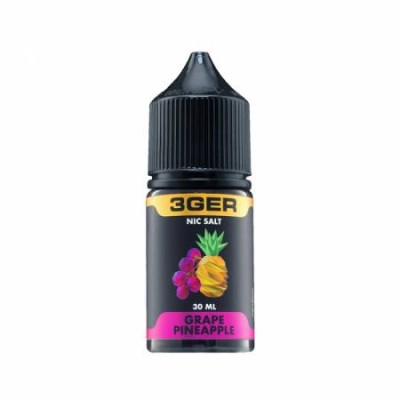 Жидкость 3GER Salt - Grape Pineapple