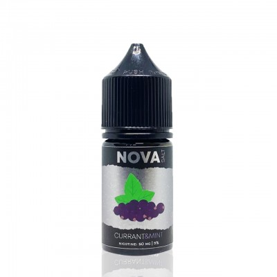 Жидкость NOVA Salt - CURRANT&MINT