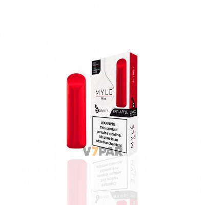 MYLE Mini - Red Apple Disposable Device