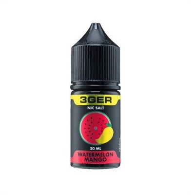 Жидкость 3GER Salt - Watermelon Mango