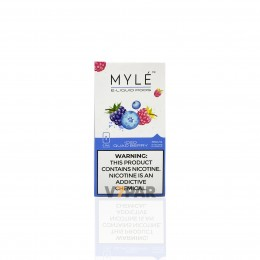 MYLE Pods - ICED Quad Berry