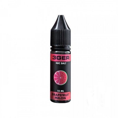 Жидкость 3GER Salt 15 ml - Grapefruit Melon