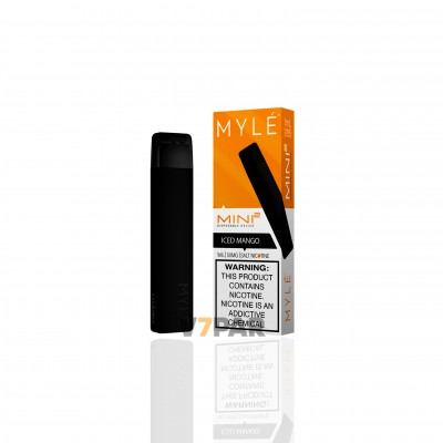 MYLE Slim Kit - ICED Mango Disposable Device