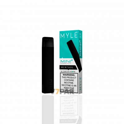 MYLE Slim Kit - Menthol Disposable Device