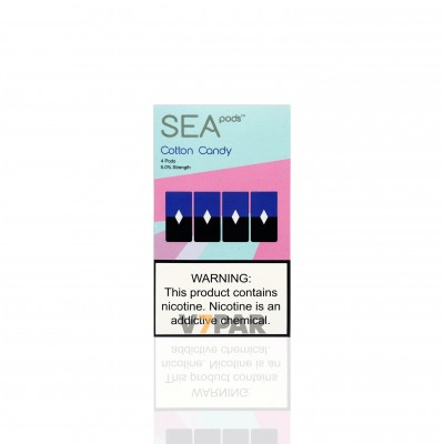 SEA100 Pods - Cotton Candy 5%
