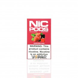 NIC Pods - Strawberry 5%